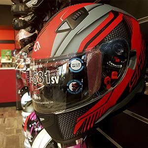 Boutique cascos guantes tienda formula motos armilla granada