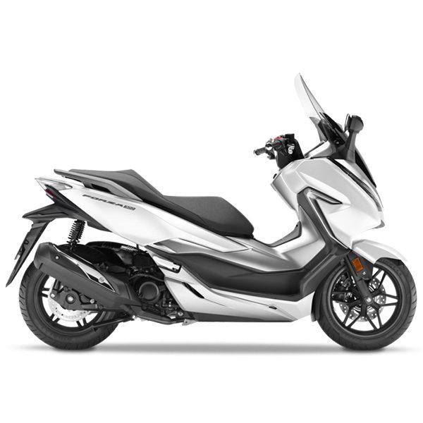 Honda Forza 300 blanca