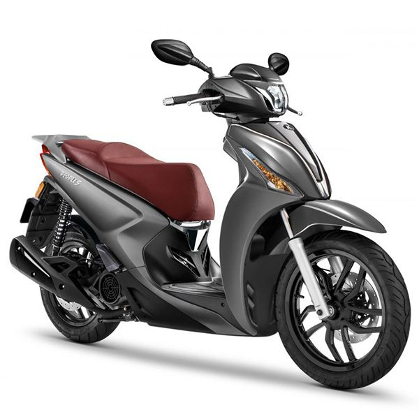 Kymco People S 125 gris mate