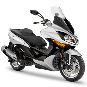 Kymco Xciting 400 ABS blanca
