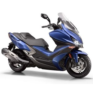 Kymco Xciting S 400 ABS azul mate