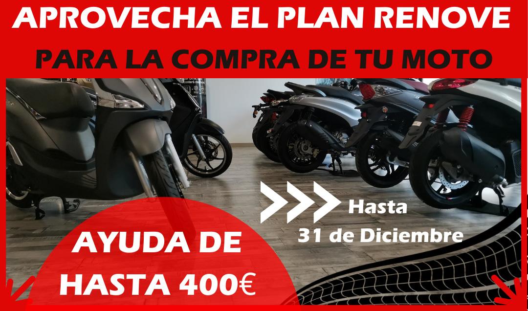 Plan RENOVE 2020 motocicletas