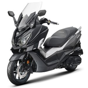SYM Cruisym 125 ABS negra mate