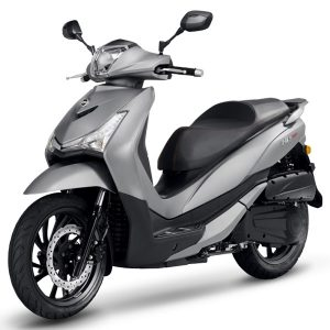 SYM HD 300 gris mate